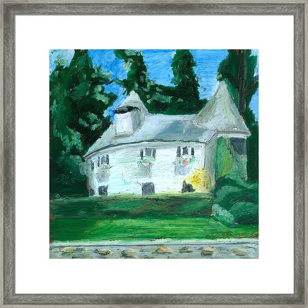 The Guest House Framed Print