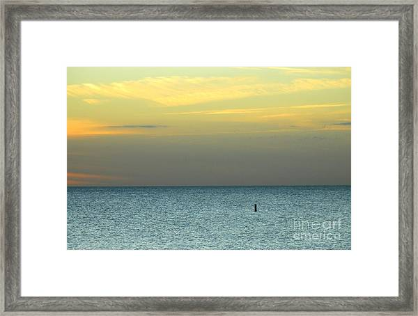 The Gulf Of Mexico Framed Print