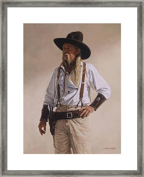 The Gunslinger Framed Print