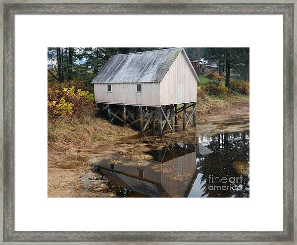 The Hammer Slough Framed Print