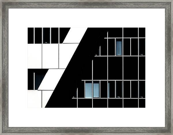 The Handles Framed Print