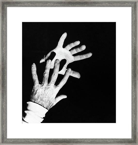 The Hands Of Dr. Michael Debakey Framed Print