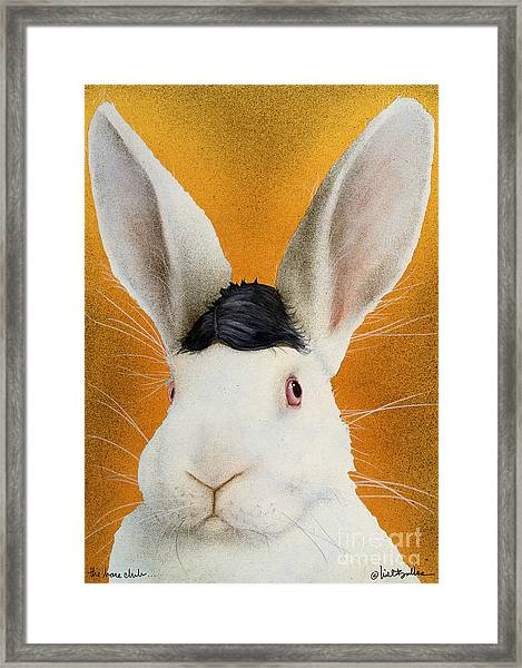 The Harepiece... Framed Print by Will Bullas