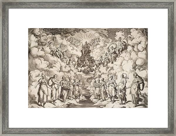 The Harmony Of The Spheres Framed Print