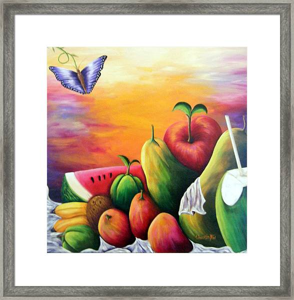 The Harvest 1 Framed Print