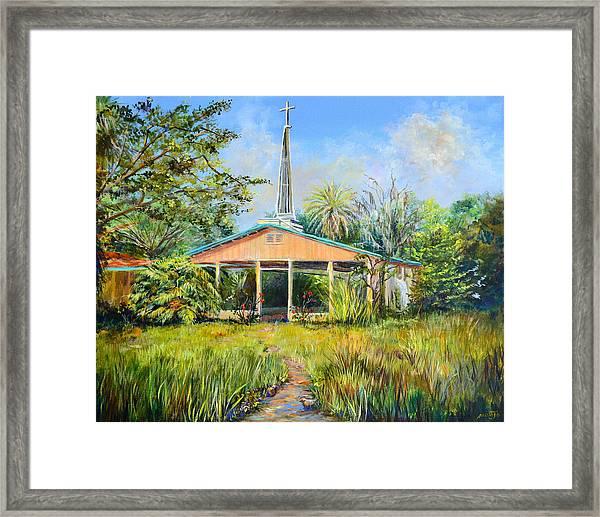 The Healing Chapel Framed Print