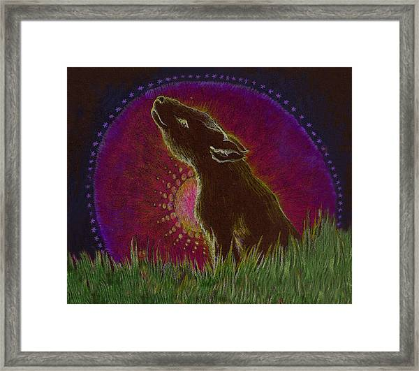 The Heart Of An Animal Framed Print