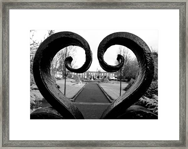 The Heart Of Dublin Framed Print
