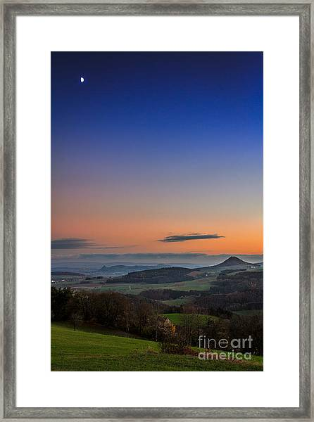 The Hegauview Framed Print