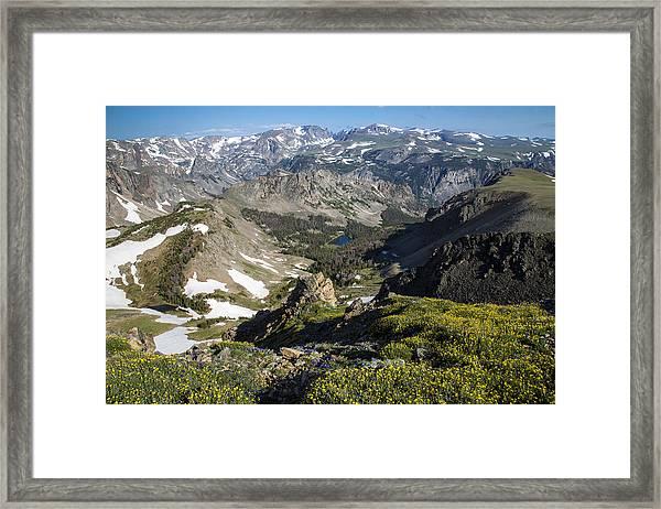 The High Beartooths Framed Print