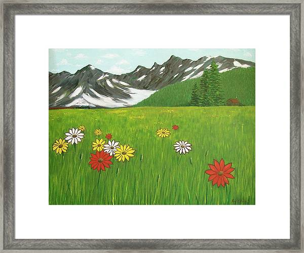 The Hills Are Alive With The Sound Of Music Framed Print