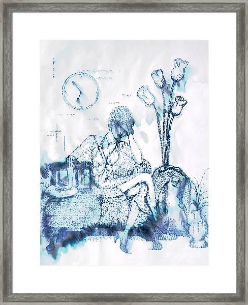 The Hold Up Framed Print