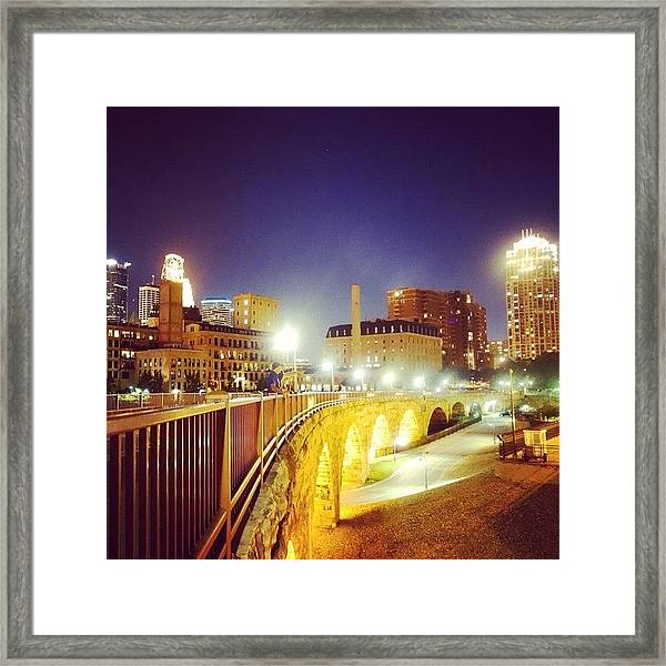 The Home Of The All Star Game Framed Print