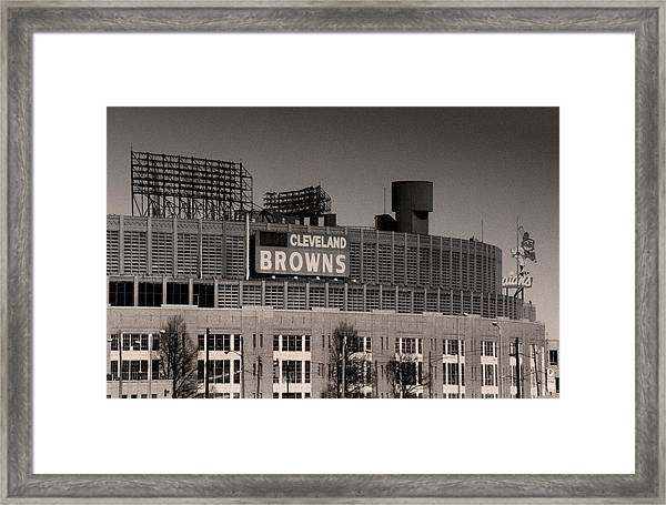 The Hometeams Framed Print