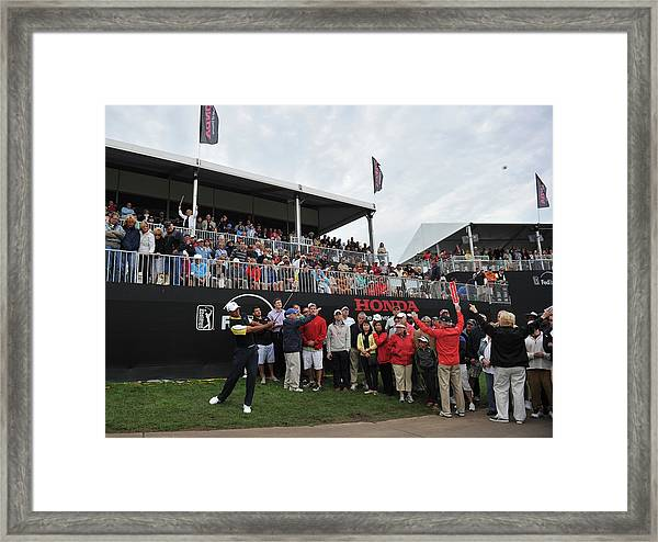 The Honda Classic - Round Two Framed Print