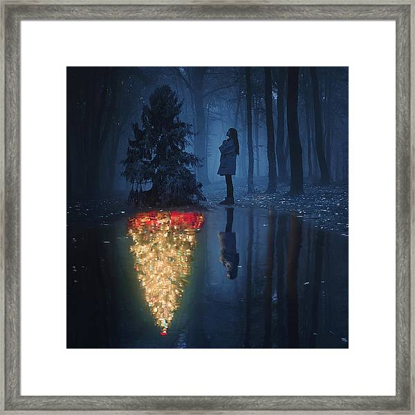 The Hope Of Christmas Framed Print by Terry F