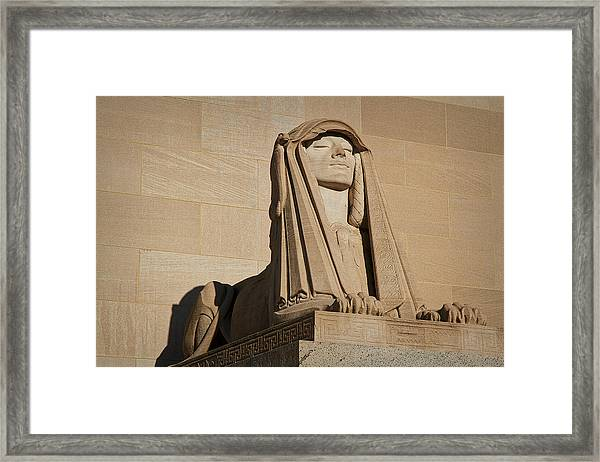 The House Of The Temple Sphinx #2 Framed Print