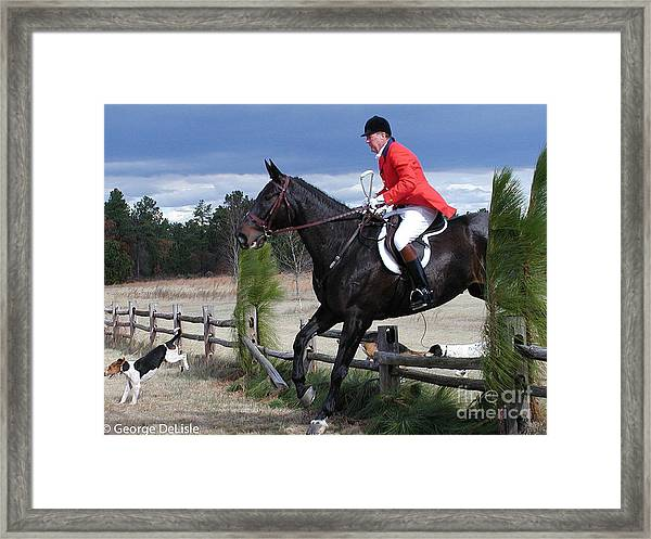 The Hunt #2 Framed Print