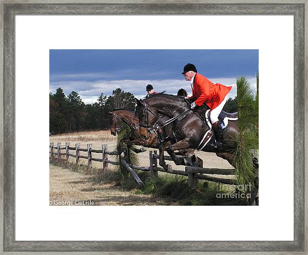 The Hunt 4 Framed Print