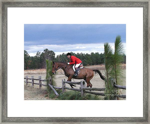 The Hunt 5 Framed Print