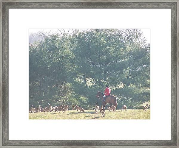 The Hunt Framed Print