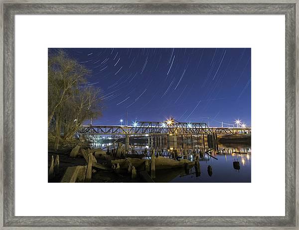 The I Street Bridge Framed Print