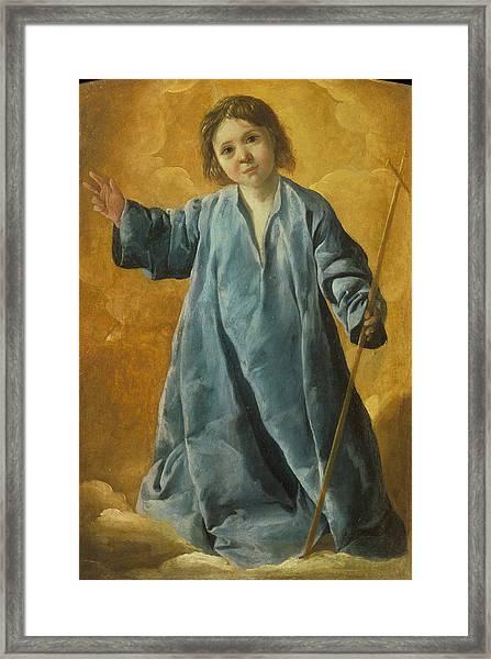 The Infant Christ Framed Print