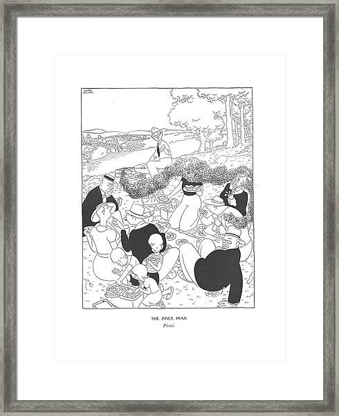The Inner Man  Picnic Framed Print