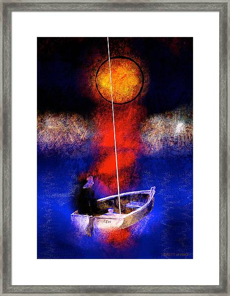 The Inward Warrior Framed Print