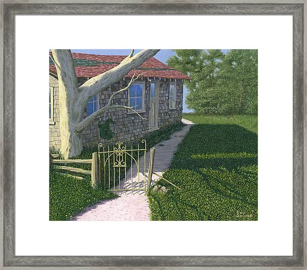 The Iron Gate Framed Print