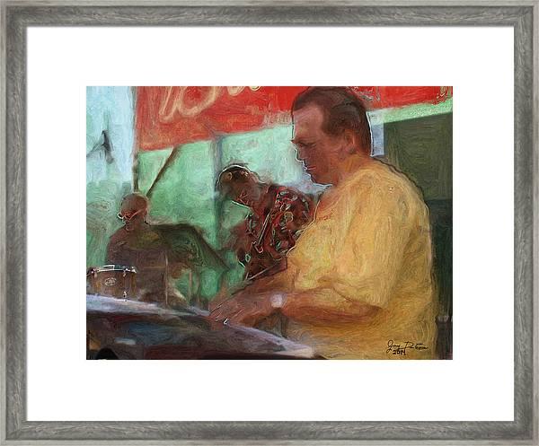 The Jazz Trio Framed Print