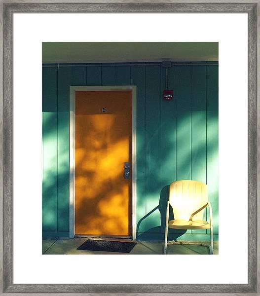The Joy Motel Framed Print