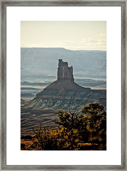 The King Of The Valley Framed Print by Juan Carlos Diaz Parra