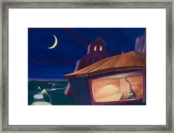 Framed Print featuring the painting The Kitchen II by Scott Kirby