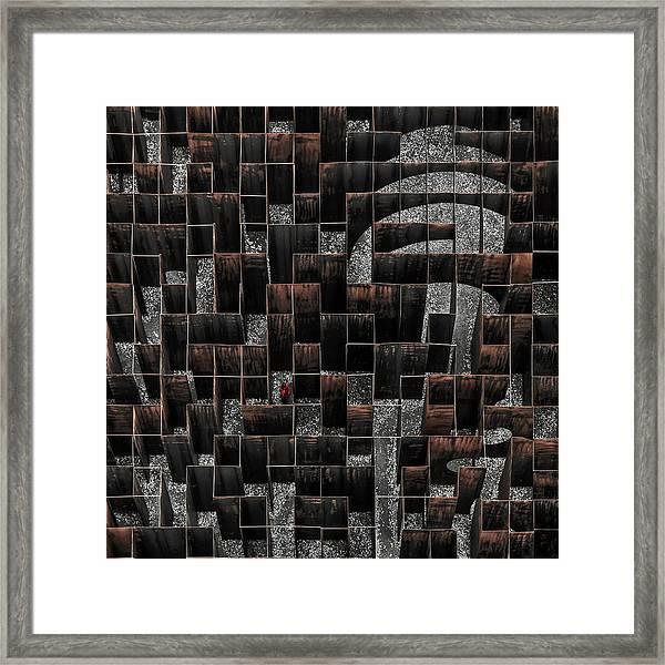 The Labyrinth Framed Print