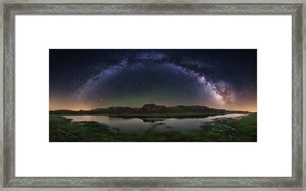 The Lagoon Framed Print