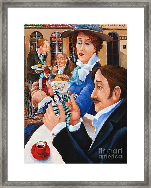 The Last Date Framed Print
