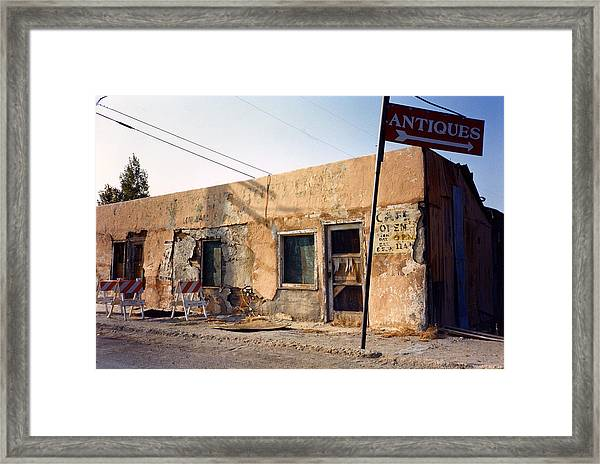 The Last Outpost Framed Print