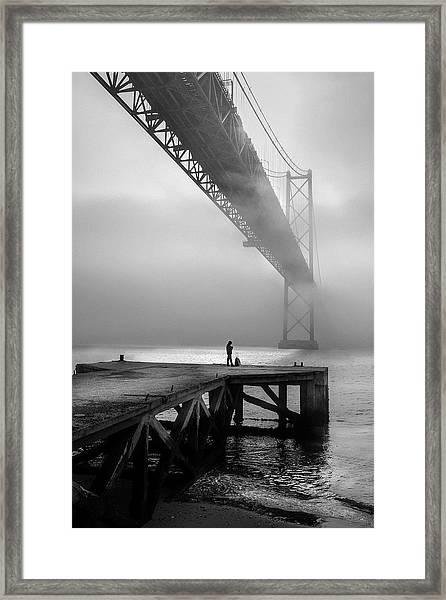 The Last Passenger! Framed Print by Fernando Jorge Gon?alves