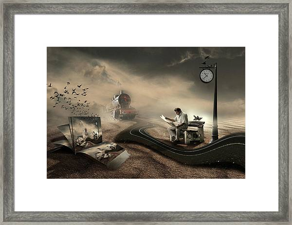 The Last Passenger Framed Print