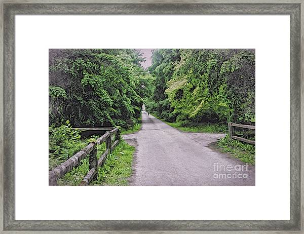 The Last Path Framed Print