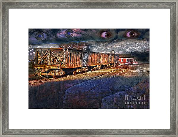 The Last Shipment Framed Print