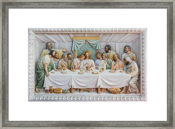 The Last Supper Framed Print