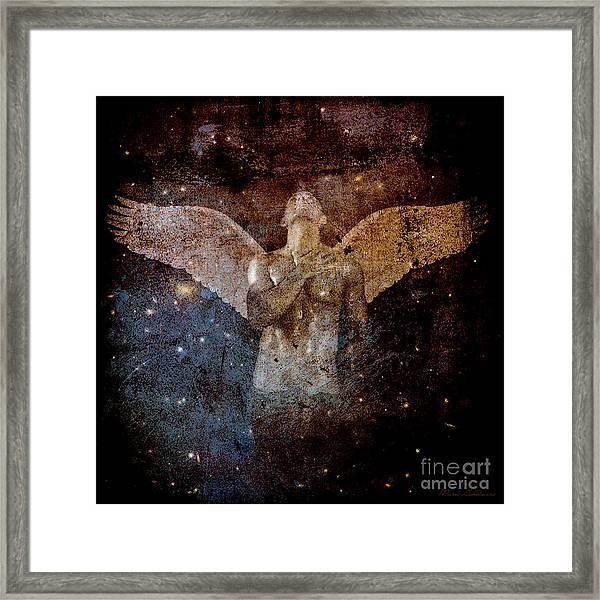 The Last Angel  Framed Print