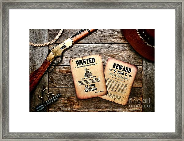 The Legend Of Frenchie Framed Print