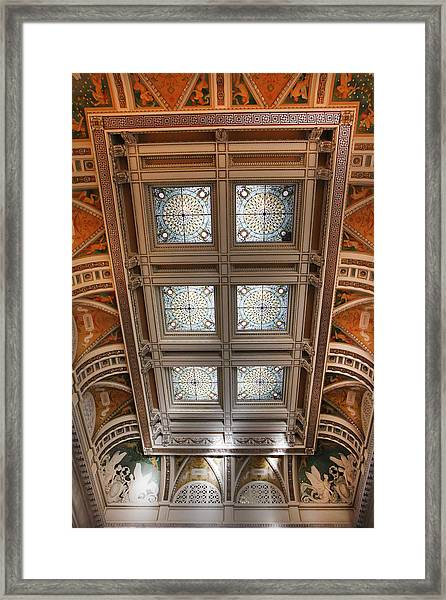 The Library Of Congress Framed Print