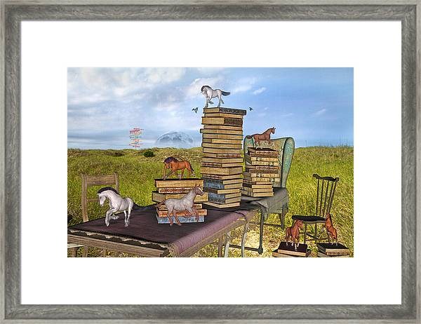 The Library Your Local Treasure Framed Print