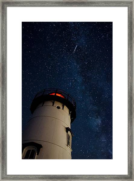 The Light And The Way Framed Print