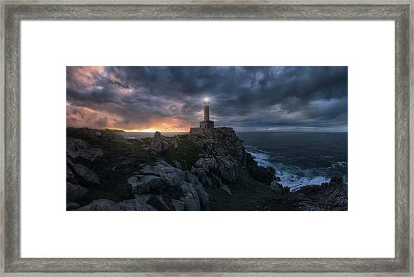 The Light At The End Of The World Framed Print