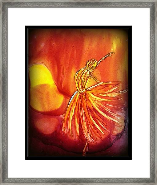 The Light Framed Print